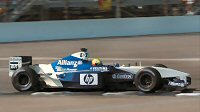 2002: Ralf Schumacher at Indianapolis in the FW24