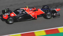 Charles Pic in the MR01 at Spa.