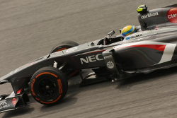 Guiterrez in the C32 at Malaysian GP 2013
