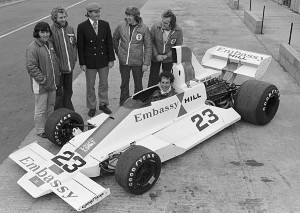 GH2 launch at Silverstone late 1975