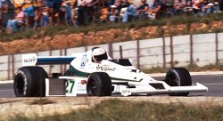 Jones in the FW06 at Kyalami 1978