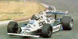Italian GP 1980 in the FW07B