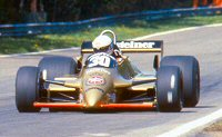 Jochen Mass in the A3-Ford at the 1980 Belgian GP