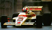 Marc Surer guides the A6 around Monaco in 1983