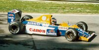 Thierry Boutsen at Imola in 1990