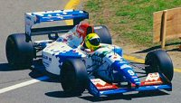 Christian Fittipaldi at the 1994 Canadian GP in the FA15