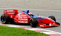 Jos Verstappen in the FA17 at the 1996 Canadian GP
