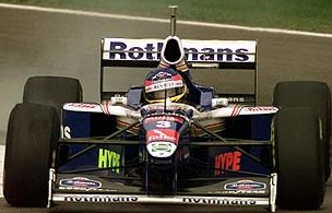 Jacques Villeneuve at the 1997 San Marino GP