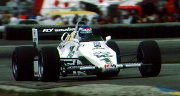 Keke Rosberg in the FW08C